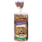 Nature's Cinnamon Raisin Swirl Bread-20 oz