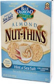 Blue Diamond Nut-Thins - Hint of Sea Salt -4.25oz
