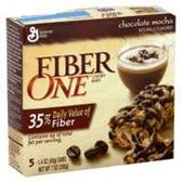 Fiber One Chocolate Mocha Chewy Bars -5 pk