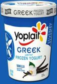 Yoplait - Vanilla Greek Frozen Yogurt -1 pint