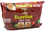 Las Campanas Beef and Bean Burritos Family Pack, 8ct