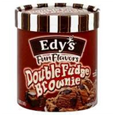 Dreyers / Edys Grand Double Fudge Brownie Ice Cream-1.5 qt