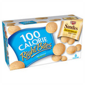 Keebler 100 Calorie Right Bites Sandies Shortbread Cookies-6 pk