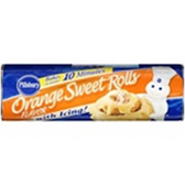 Pillsbury Flaky Supreme Orange Sweet Rolls with Icing