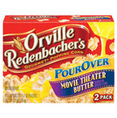 Orville Redenbacher's Pour Over Movie Theater Butter Popcorn-4 p