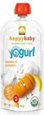 Happy Baby Greek Yogurt - Banana & Pumpkin -3.5oz