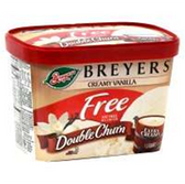 Breyers Fat Free Creamy Vanilla Ice Cream -1.5 qt