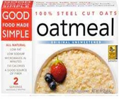 Good Food Made Simple Original Unsweetened Oatmeal -16oz