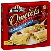 Jimmy Dean Sausage & Cheese Omelets -2 ct