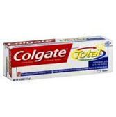Colgate Total Advanced Clean Toothpaste - 5.8 Oz
