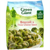 Green Giant Valley Fresh Steamers Broccoli & 3 Cheese Sauce-12oz
