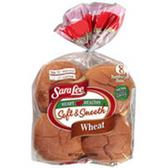 Sara Lee Soft Smooth Wheat Hamburger Buns -8 ct