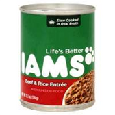 Iams Premium Beef And Rice Entree Dog Food - 13.2 Oz
