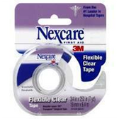 3M Nexcare Flexible Clear First Aid 0.75 Inch Tape 7 Yards - 7 Y