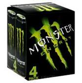 Monster Energy Original - 4 Pk