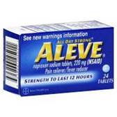Aleve Naproxen Sodium Tablets - 24 Count