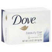 Dove White Regular Beauty Bar - 3.15 Oz