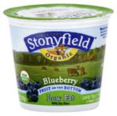 Brown Cow Organic Yogurt Blueberry -6 oz
