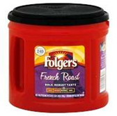 Folgers French Roast Coffee - 27.8 oz