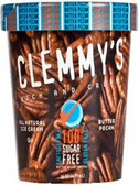 Clemmy's Ice Cream - Butter Pecan -16oz