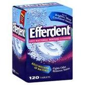 Efferdent Original Anti-Bacterial Denture Cleanser - 120 Count