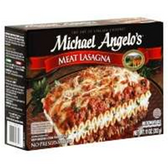 Michael Angelo's Italian Natural Cuisine White Label Meat Lasagn