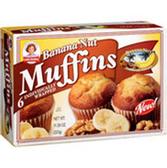 Little Debbie Banana Nut Muffins -6 ct