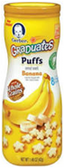 Gerber Fruit Puffs Banana-1.48oz