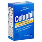 Cetaphil Antibacterial Gentle Cleansing Bar - 4.50 Oz