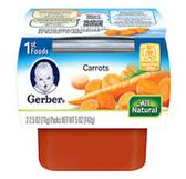 Gerber All-Natural - Carrots -2ct
