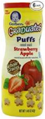 Gerber Fruit Puffs Strawberry Apple-1.48oz