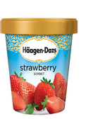 Haagen-Dazs - Strawberry Sorbet -16oz