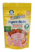 Gerber Graduates Yogurt Melts Strawberry-1 oz