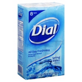 Dial Spring Water Bath Bar Soap - 8-4.5 Oz