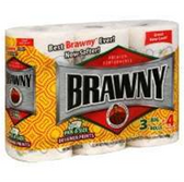 Brawny 3 Big Print Pas Paper Towels - 2 Roll