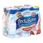 Pediasure Strawberry Nutritional Drink-6/6oz