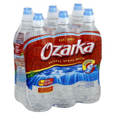 Ozarka Sport Bottled Water - 6 pk