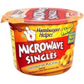 Betty Crocker Hamburger Cheeseburger Microwave Singles  Meal-5.5