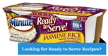 Minute Rice - Jasmine Rice -4.4oz