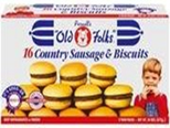 Putnell's Country Sausage & Biscuits -16ct