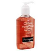 Neutrogena Oil Free Acne Wash Pink Grapefruit - 6 Fl. Oz.