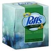 Puffs Tissue Plus Lotion - 56 Count