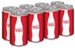 Coke Sleek Cans -8pk