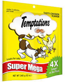 Whiskas Temptations Super Mega Chicken -12oz