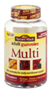 Nature Made Multi Adult Gummies Orange Cherry and Mixed Berry,90