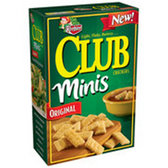 Keebler Club Minis Original Crackers -11 oz