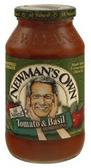 Newman's Own Tomato Basil Pasta Sauce - 24 oz
