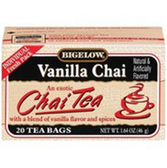Bigelow Vanilla Chai Tea - 20 ct