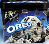 Breyer's Blasts - Oreo -1.5oz