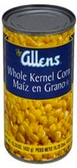Allen's - Whole Kernel Corn -15oz